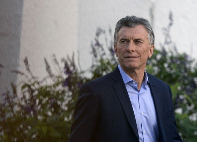 Argentina President Mauricio Macri  has come out strongly against abortion (AFP)
